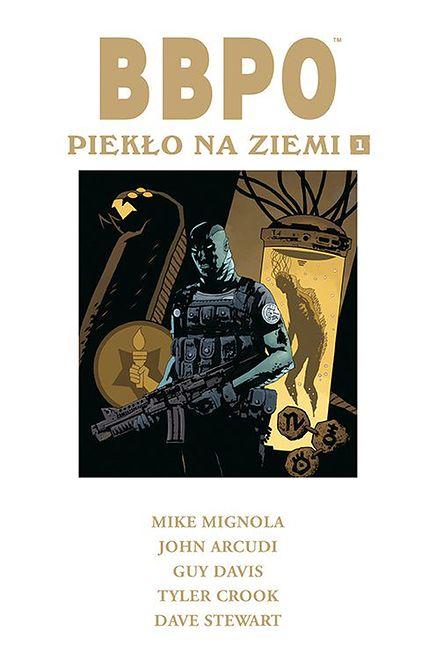 """Okładka pierwszego tomu serii """"Piekło na Ziemi"""""""