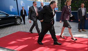 Amerykański sekretarz stanu zjawił się w Brukseli niespodziewanie
