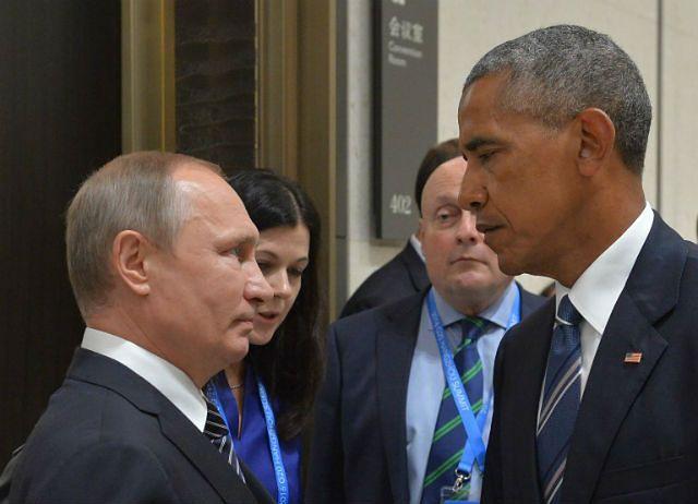 Władimir Putin i Barack Obama na wrześniowym szczycie G20