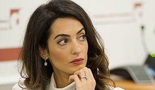Amal Clooney skarży ISIS i prosi kobiety o pomoc