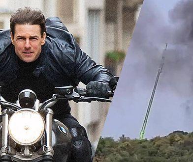 """Kolejne problemy """"Mission: Impossible"""". Spłonęła scenografia warta miliony funtów!"""
