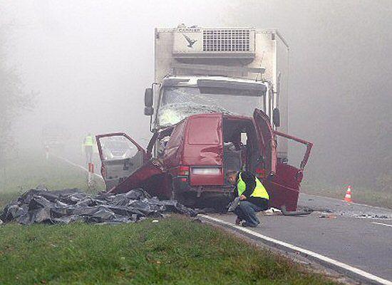 """'Wypadek był tak tragiczny, że nie można było pomóc"""""""