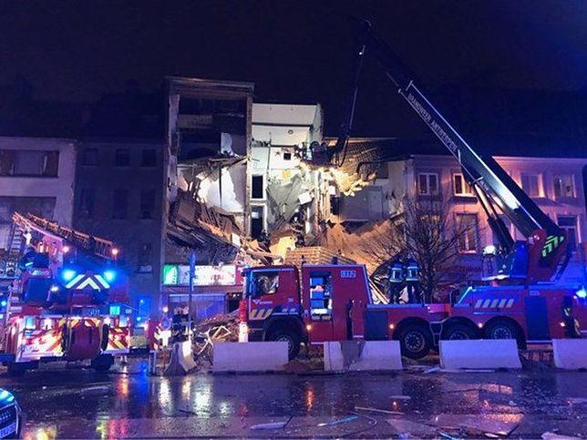 Belgia: Doszło do eksplozji. Zawalił się budynek, co najmniej 5 osób zostało rannych
