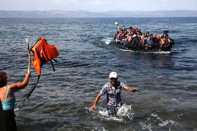 Porzucili ich na środku morza? Uchodźcy oskarżają Greków