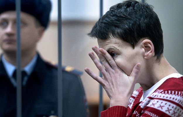 34-letnia Nadia Sawczenko oskarżona jest o współudział w zabójstwie dwóch rosyjskich dziennikarzy