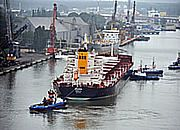 Do portu w Świnoujściu wpłynął największy statek w historii