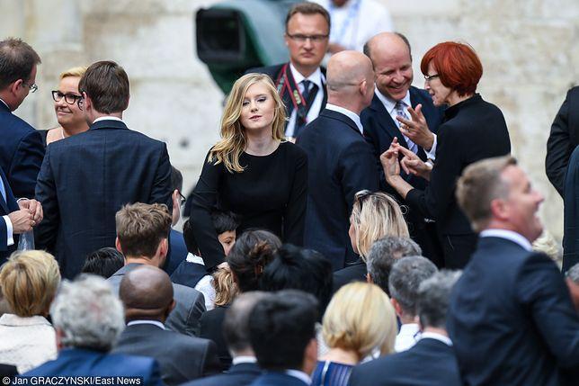 Córka prezydenta wita papieża