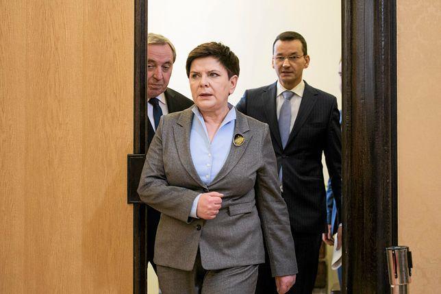 Mateusz Morawiecki zastąpi na stołku premiera Beatę Szydło