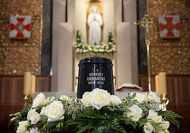 Ostatnie pożegnanie Andrzeja Urbańskiego
