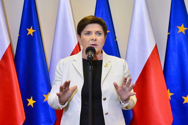 Wicepremier Beata Szydło zapewnia, że rząd chce podpisać porozumienie ze związkowcami