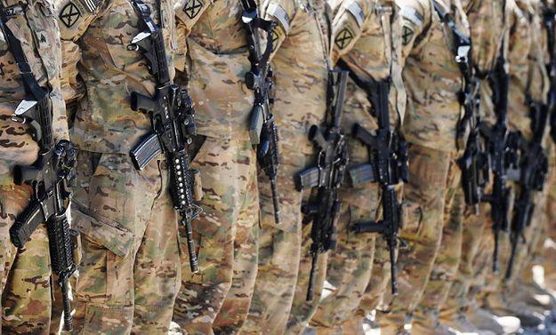 Amerykańscy żołnierze już na Ukrainie