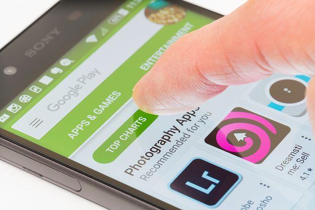 Uważaj na aplikację pobierane na Google Play