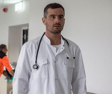 "Antoni Pawlicki w serialu ""Echo serca"""