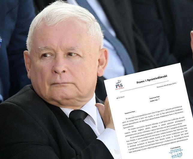 """Jarosław Kaczyński zabrał głos ws. korespondencji z hejterką """"Emi"""""""