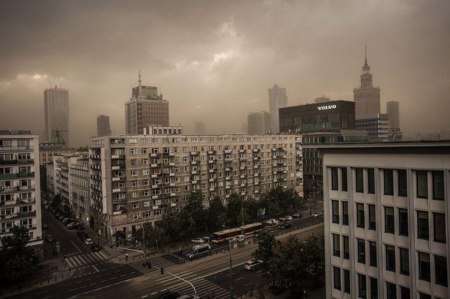 Burza piaskowa i zamieci pyłowe