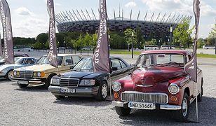 Spotkanie miłośników klasycznych samochodów