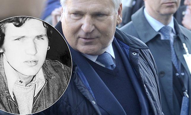 Aleksander Kwaśniewski teraz i przed laty. Jego zdjęcie pokazała córka