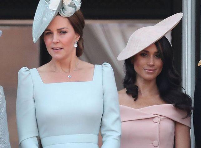 """Kłótnie Kate i Meghan to tylko część medialnej sagi.  """"Królowa nie dopuści do takiego konfliktu"""""""