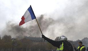 W sobotę w starciach manifestantów z policją rannych zostało ponad 100 osób
