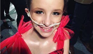 11-letnia modelka przegrała walkę z rakiem