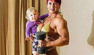Uzależniona od siłowni. Strongwoman nie przestała trenować nawet w ciąży