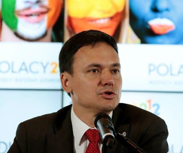 Minister spraw wewnętrznych Jacek Cichocki