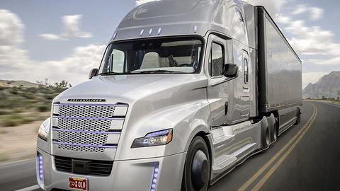Autonomiczne ciężarówki pokonały długą trasę po europejskich drogach