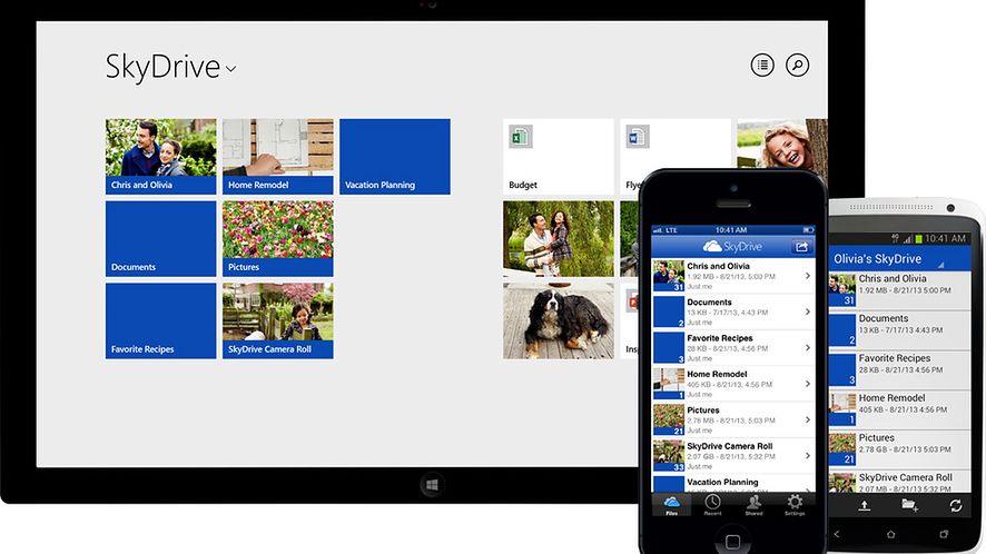 SkyDrive dołącza do walki o zdjęcia użytkowników iOS