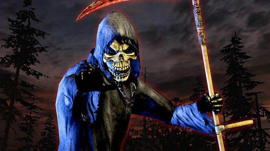 Grafika reklamująca dodatek do gry Killing Floor, dostępny z nią w akcji na Steam