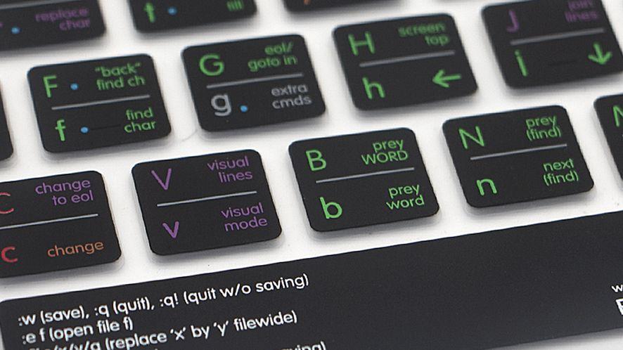Vim Keyboard Cover: nakładka, dzięki której nie zgubisz się w vimie