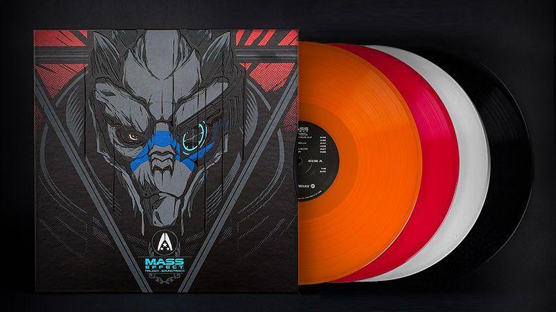 Muzyka z trylogii Mass Effect wydana na winylach. Coś dla gracza z gramofonem