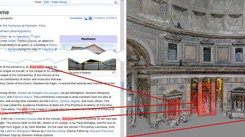 Koniec zwiedzania na StreetView? Na Wikipedii mogą pojawić się modele miejsc z adnotacjami