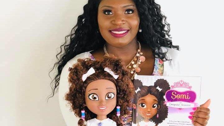 """Kobieta stworzyła lalkę do nauki informatyki. """"Branży brakuje różnorodności etnicznej"""""""