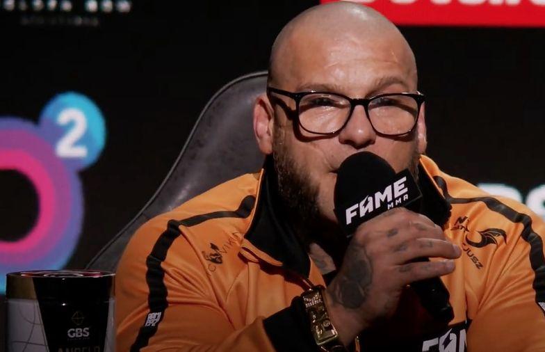 Fame MMA 9: Popek ma poważną kontuzję. Nie będzie walczył na gali