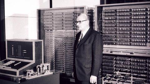 Konrad Zuse – genialny malarz, który w III Rzeszy zbudował pierwszy komputer
