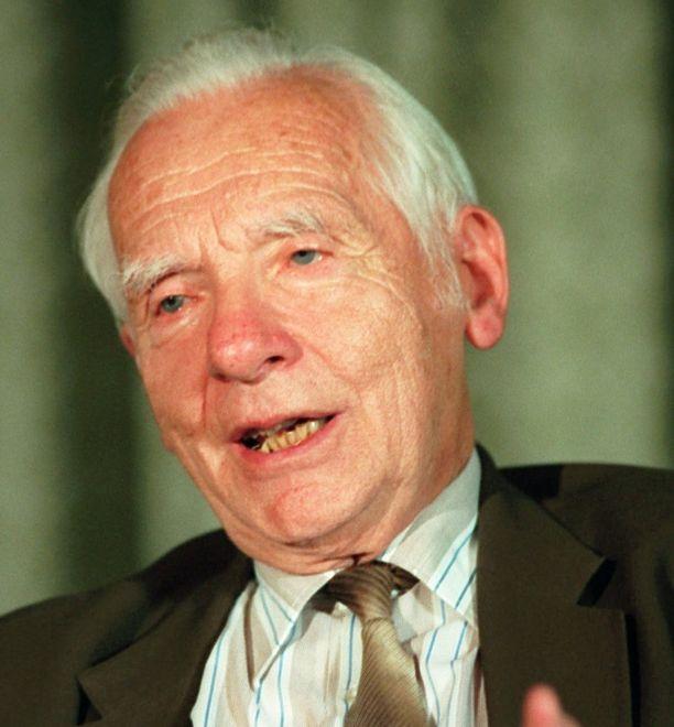Noblista zmarł w 2005 r. w Londynie