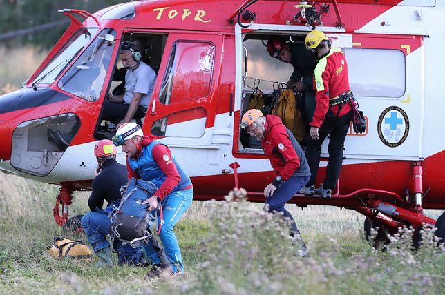Tatry. TOPR szuka 2 mężczyzn uwięzionych w Jaskini Wielkiej Śnieżnej