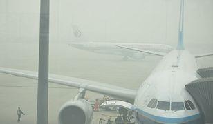 Gęsta mgła na Okęciu. Pięć lotów przekierowanych