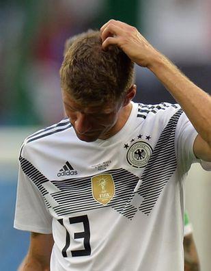 Niemieckie media równają z ziemią piłkarzy