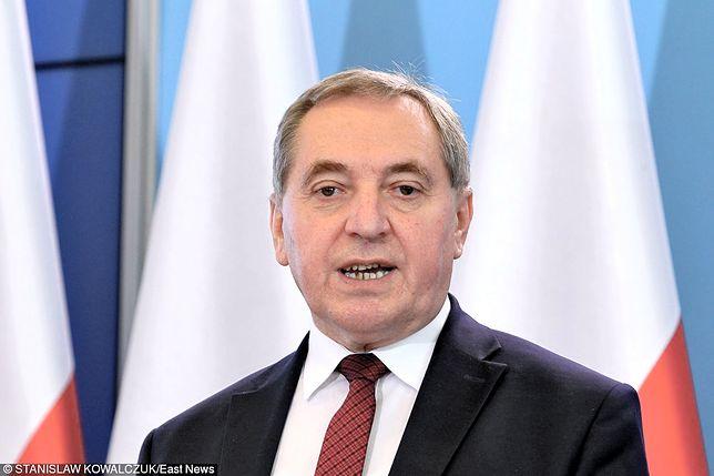 Minister środowiska Henryk Kowalczyk przekonał się do systemu kaucyjnego.