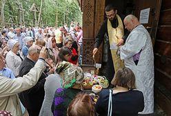 Tłumy na Górze Grabarce. Wierni zgromadzili się na modlitwie w dniu ważnego święta