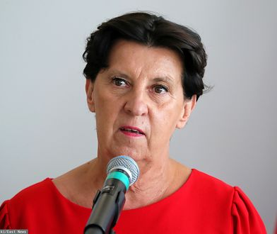 Senator Ewa Matecka z Koalicji Obywatelskiej przedstawiła sprawozdanie z posiedzenia komisji kultury