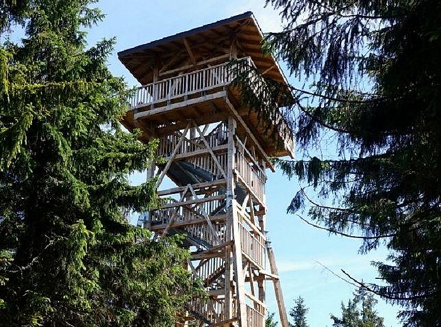 Nowa wieża na Radziejowej