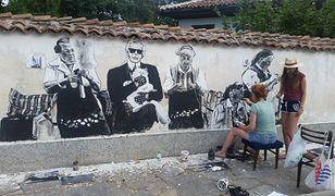 Takich murali można im zazdrościć. Bułgarska wioska na ustach wszystkich