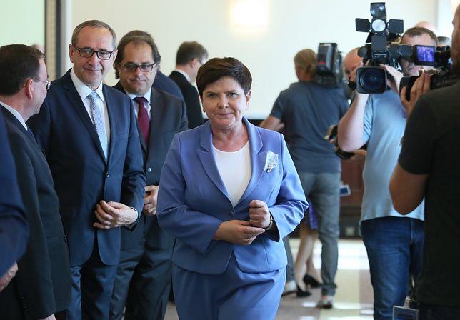 Premier skomentowała kwestię zmian w rządzie. Co powiedziała?