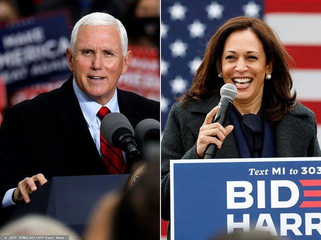 Wybory w USA. Wiceprezydentem zostanie Kamala Harris lub ponownie Mike Pence
