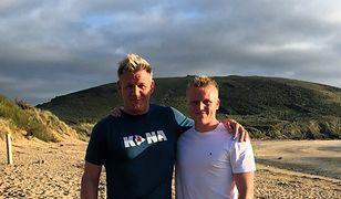 Gordon Ramsay okazuje tęsknotę za synem w nietypowy sposób