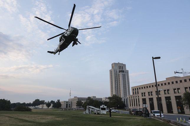 Joe Biden przybył do Narodowego Wojskowego Centrum Medycznego im. Waltera Reeda, aby odwiedzić żonę