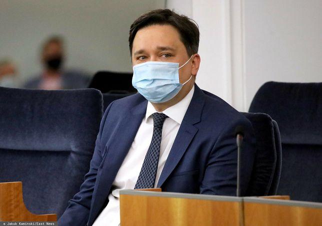 Na zdjęciu dr hab. Marcin Wiącek, prof. UW.