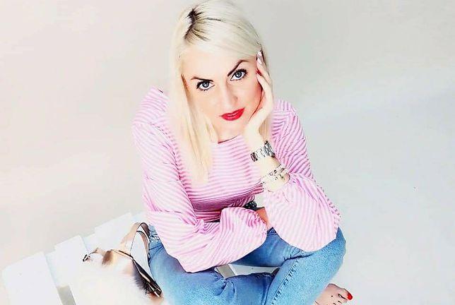 Agata Turek ma 32 lata, doznała wylewu